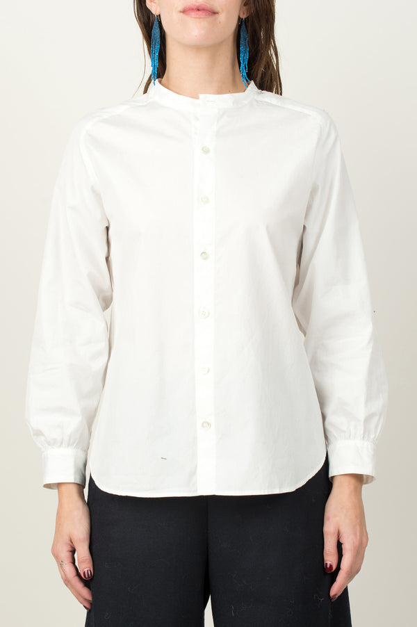 Broad Freedom Sleeve Stand Collar Shirt