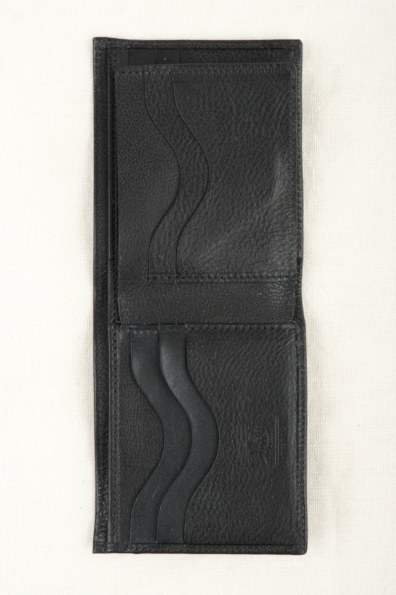 Il Bisonte Bi-fold Wallet Italian Leather