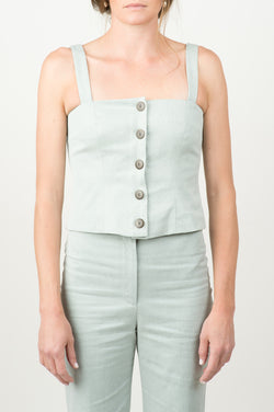 mara hoffman malin top in sage