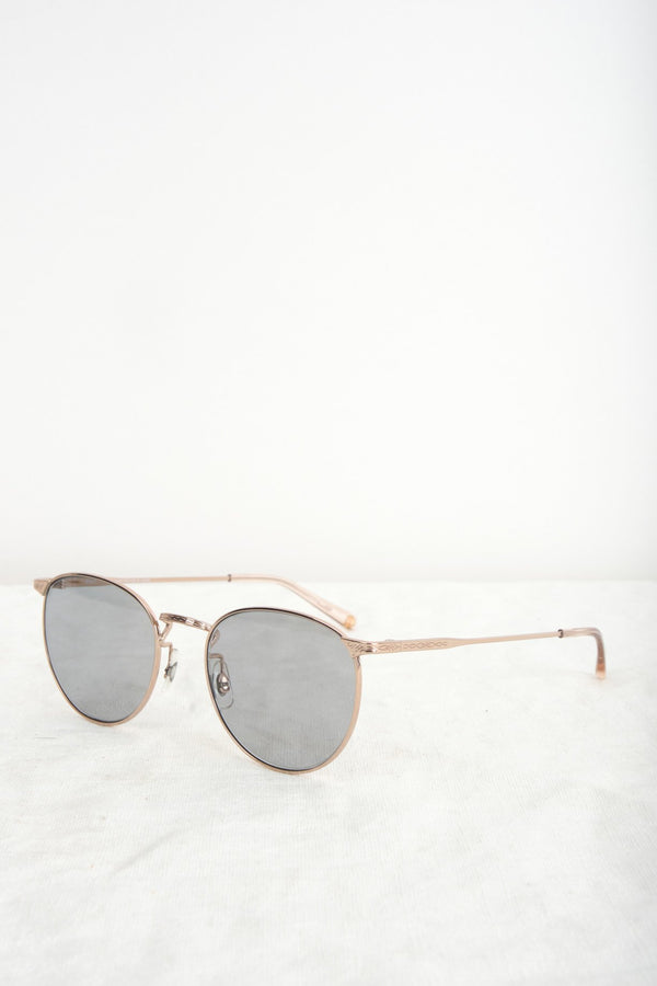 Salt Optics Brower In Rose Gold Polarized