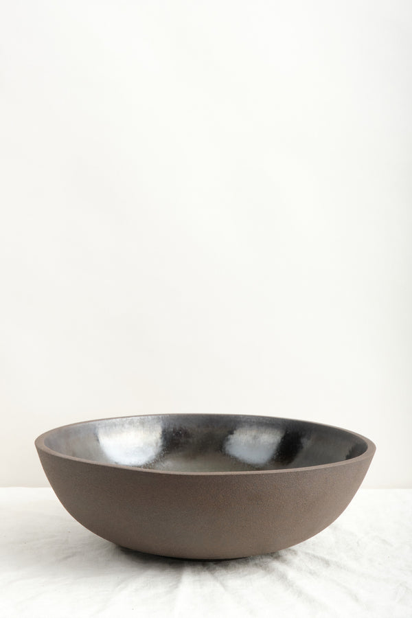 Humble Ceramics Designer Bowl In Brownstone/Midnight Glow