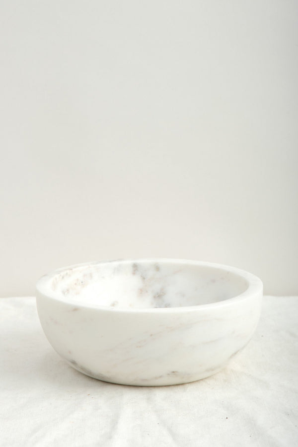 Large Mara Marble Bowl Hawkins New York