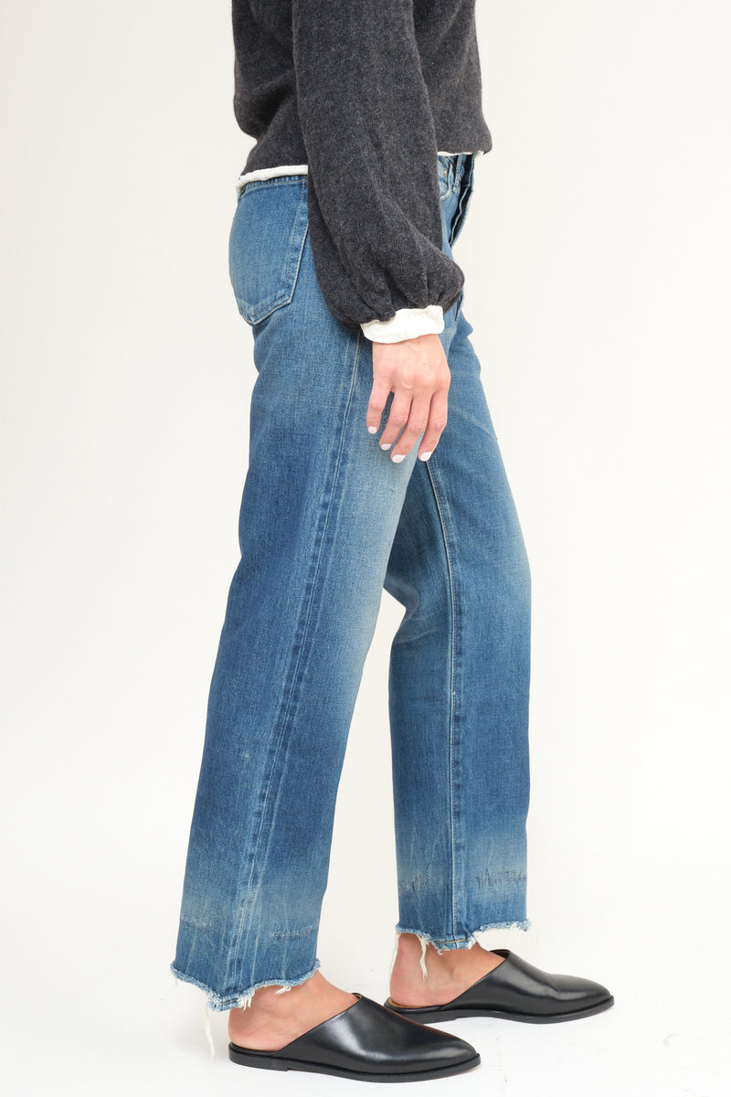 women's japanese cotton jeans chimala