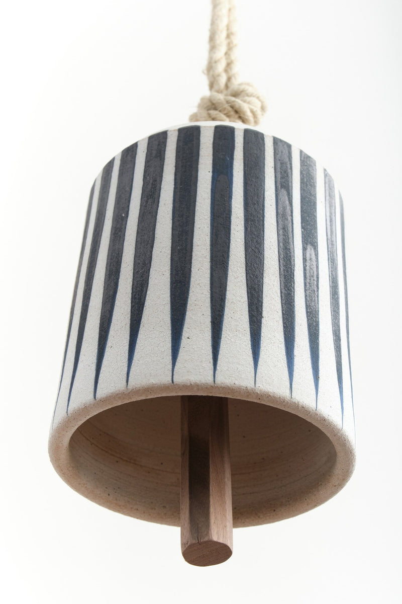 Mquan Studio Large Wide Thrown Bell Stripes
