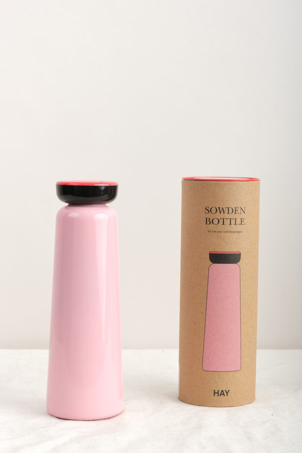 HAY 12oz Sowden Bottle Light Pink