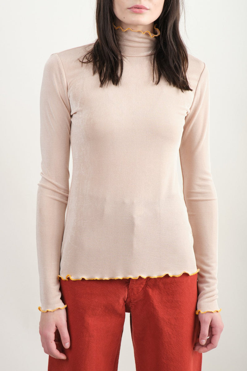 Recall Top In Oyster Rachel Comey