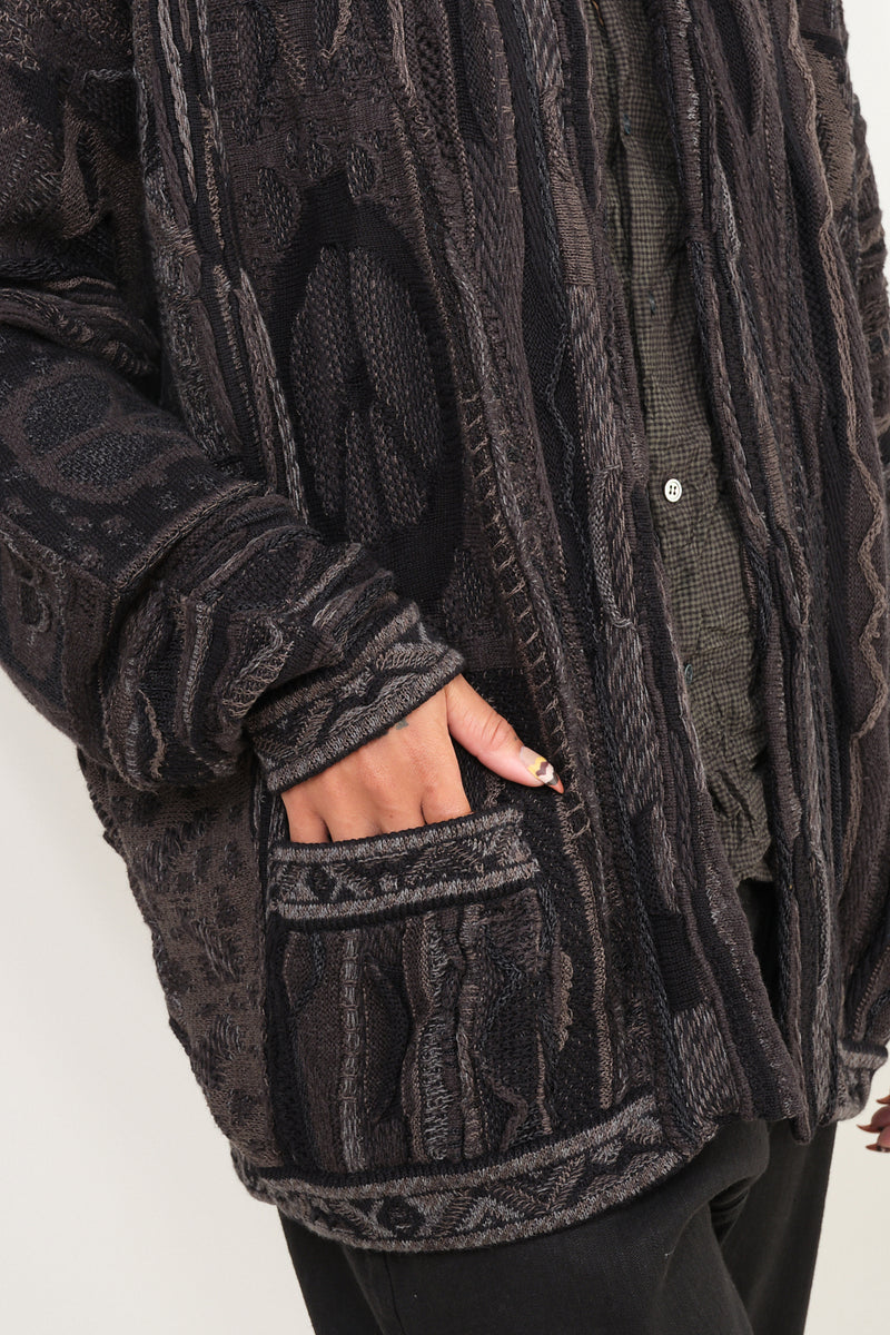7G BORO GAUDY Cardigan sweater