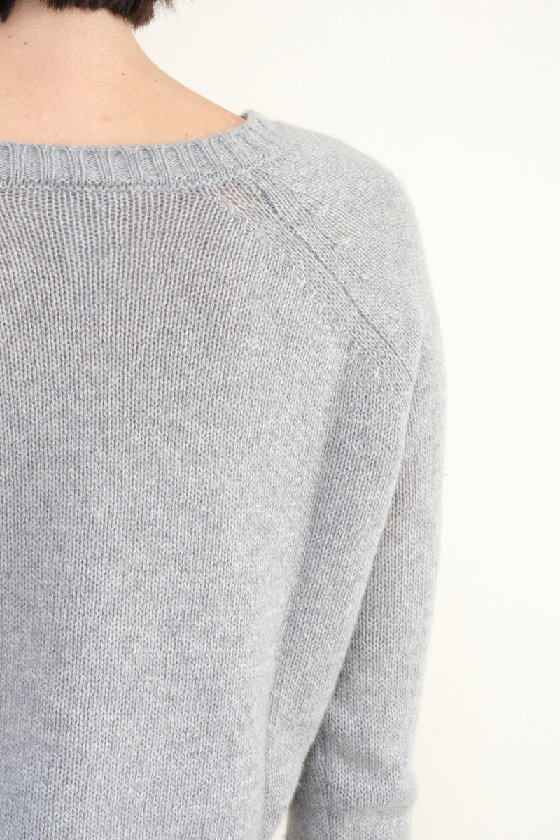 P-281 Knitted Cashmere Crewneck sweater
