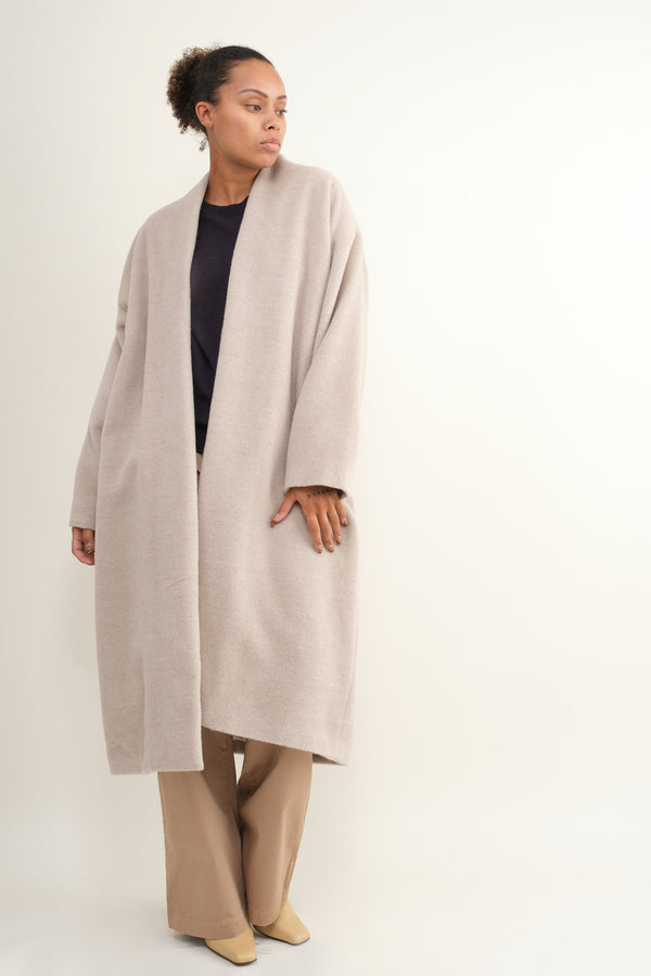 Lauren Manoogian Brush Shawl Coat