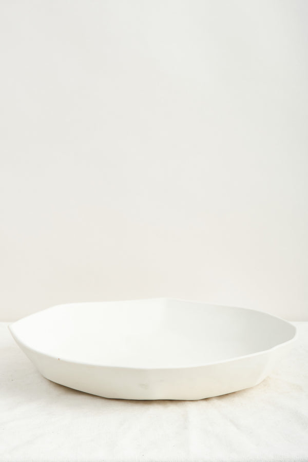 Dbo Home Battuto Serving Bowl Snowflake
