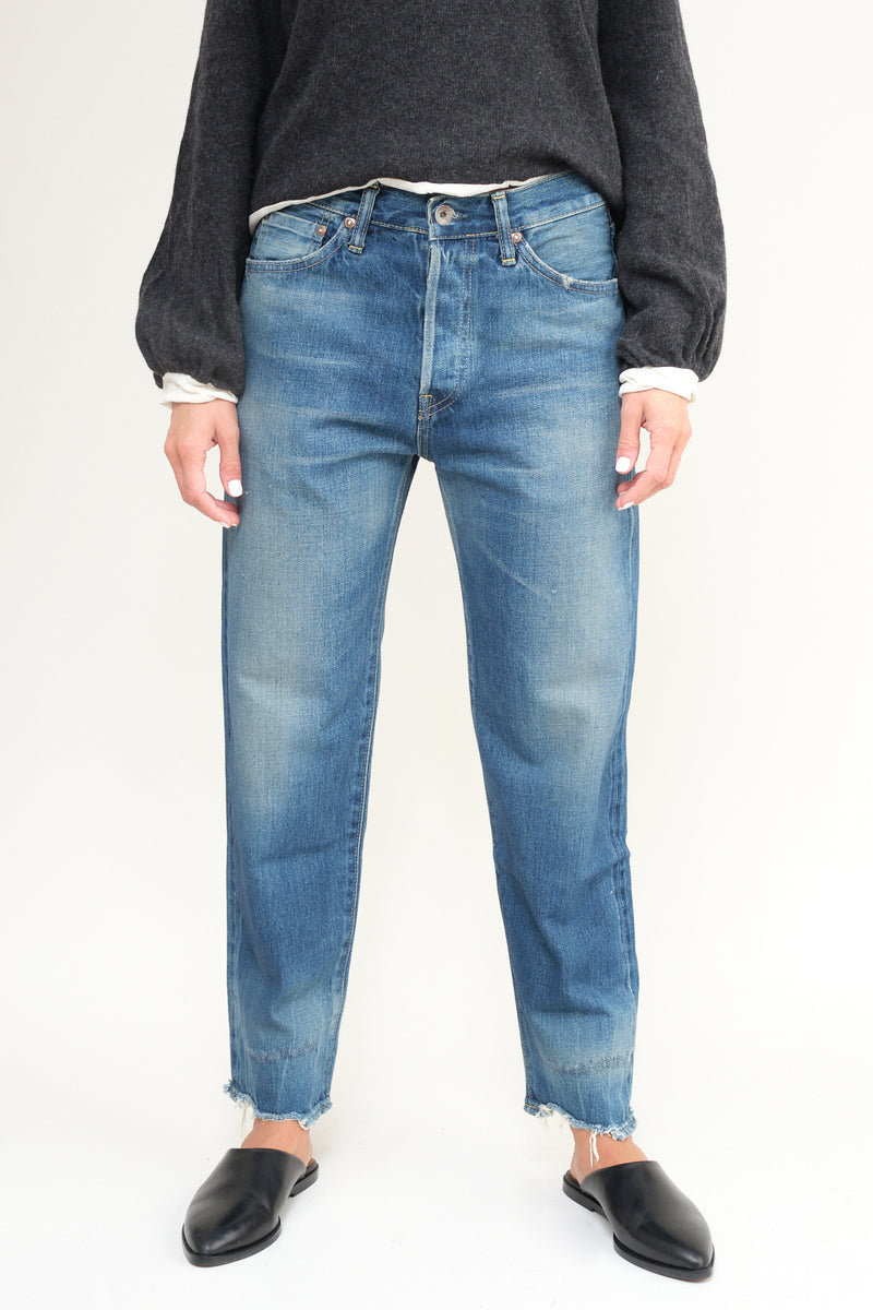 Chimala 13.5oz Selvedge Denim Used Ankle Cut