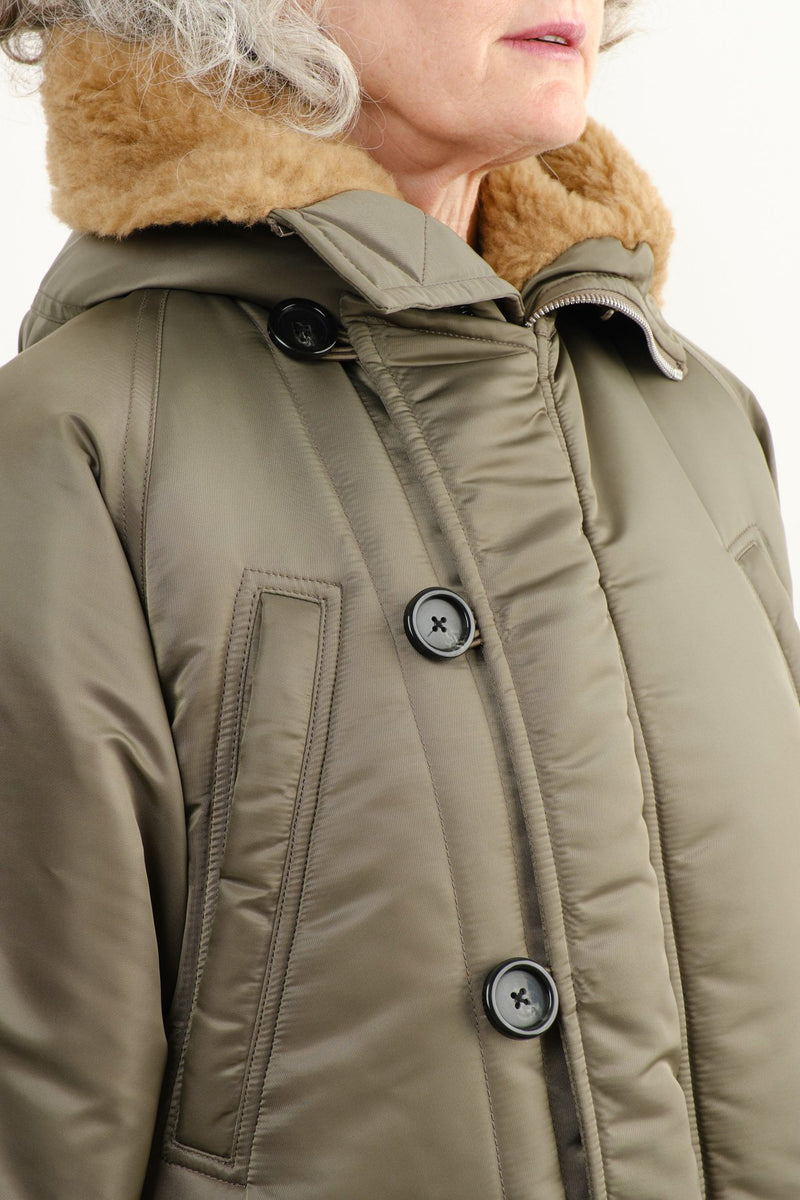 Vis a Vis Faux Fur Lined Long Winter Parka