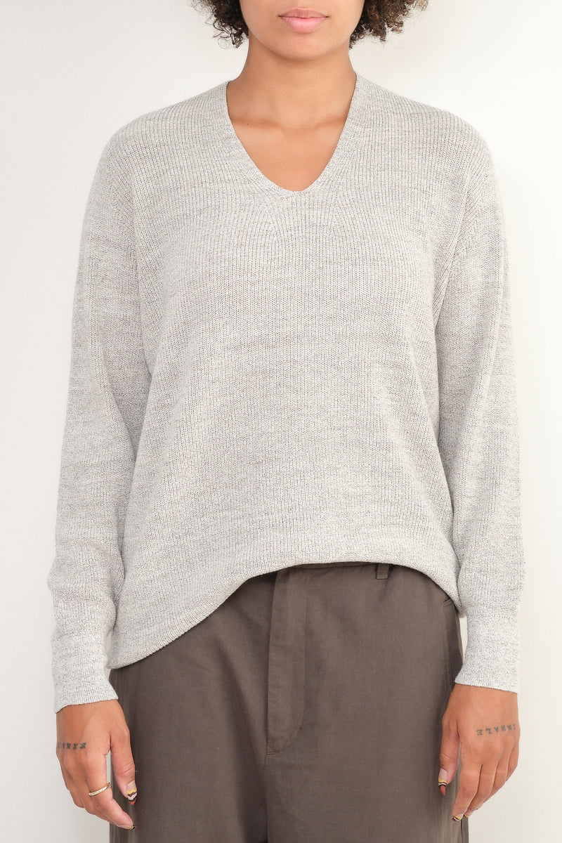 oversized cotton blend sweater pas de calais