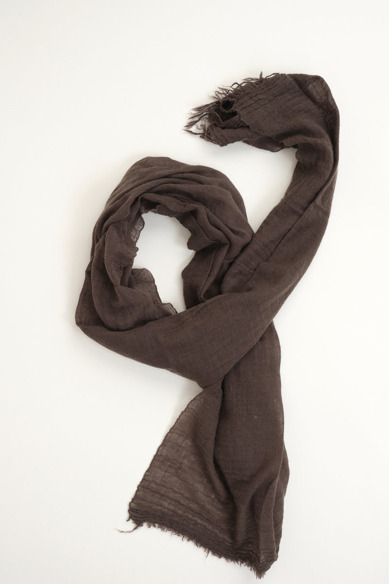 private 0204 601 Net Cashmere Scarf in Moss