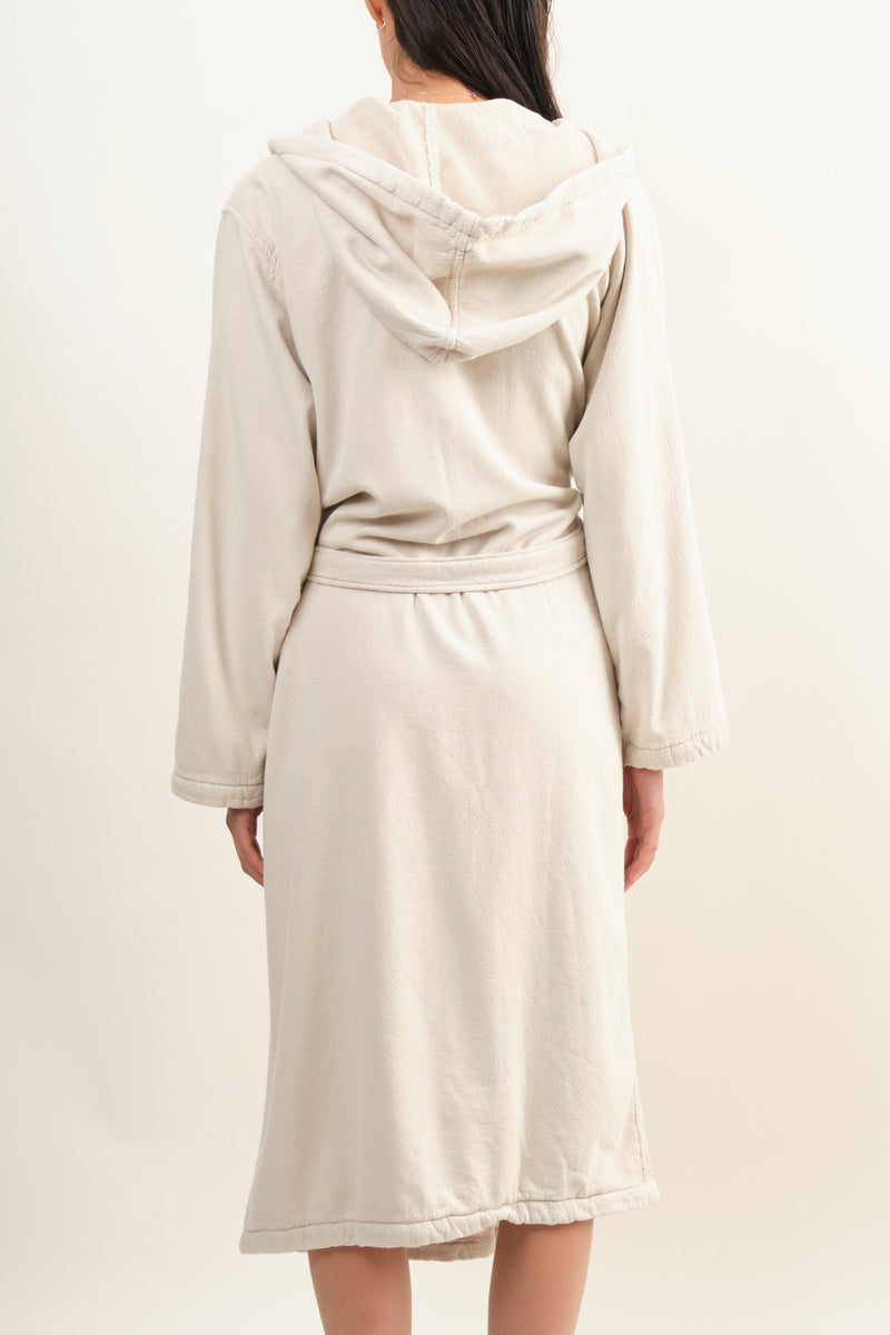 Vintage Wash Robe In Clay