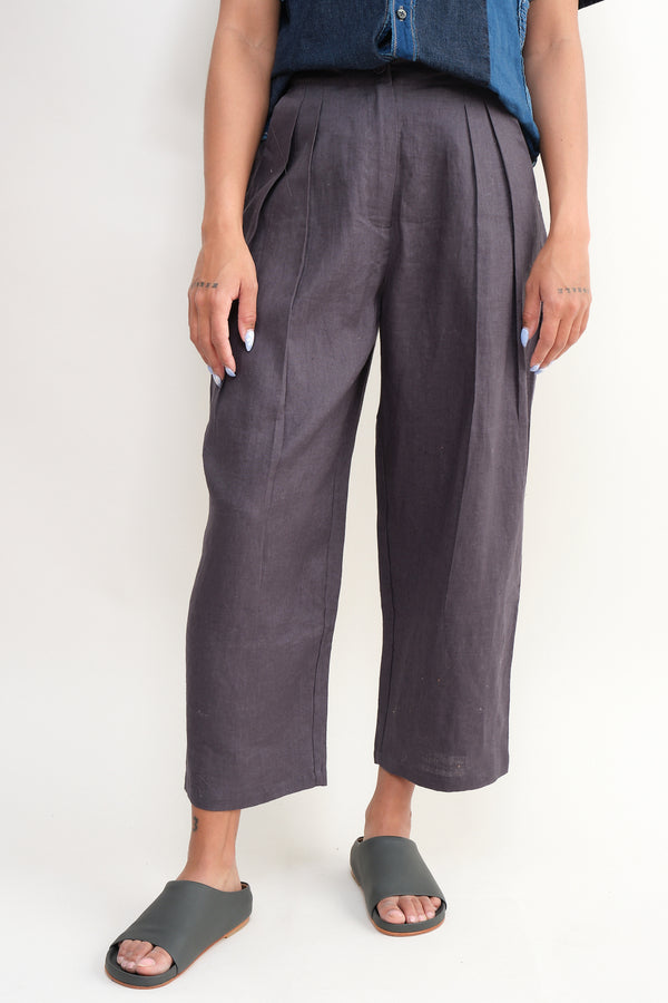 7115 by szeki linen trouser