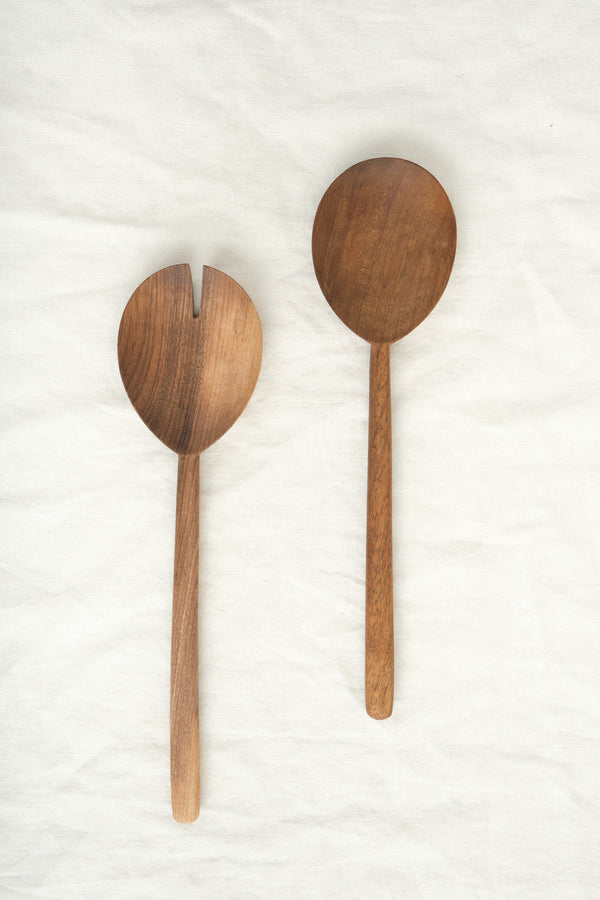 Hawkins New York Walnut Serving Set