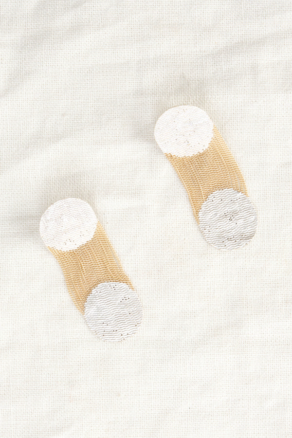 Hannah K Two Dots Earrings