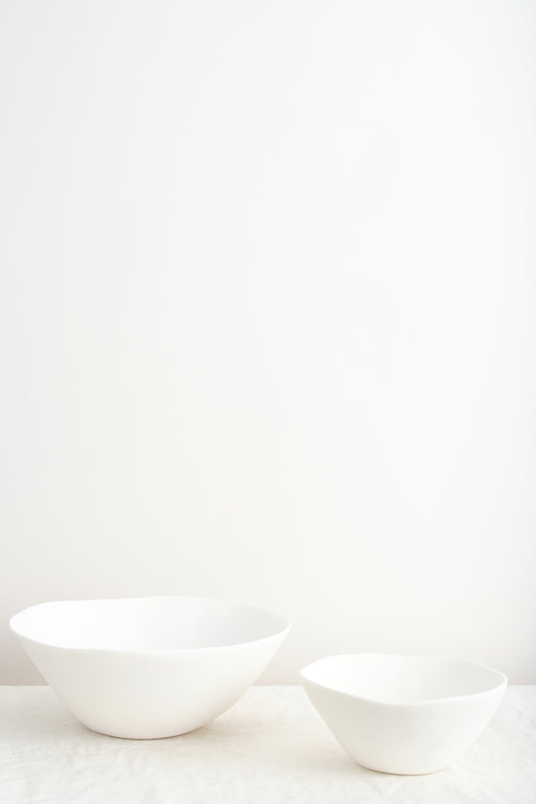 white serving bowls Tina Frey Designs