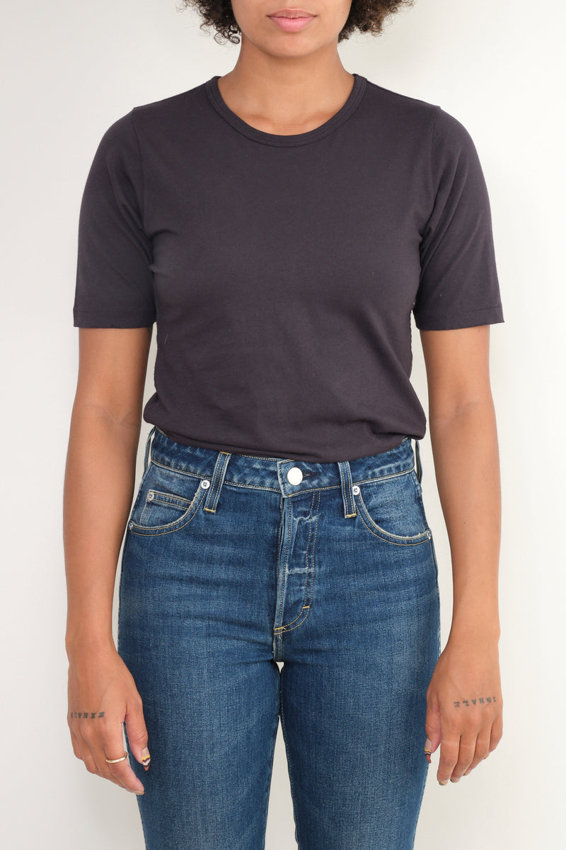vintage black slim tee Amo Denim