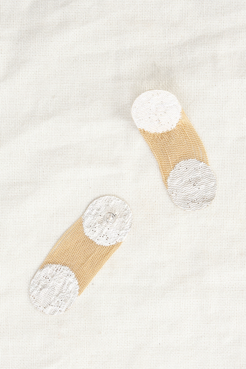 Hannah Keefe Two Dots Earrings