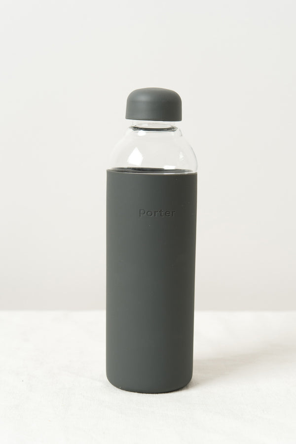 W & P Design Porter Water Bottle In Charcoal