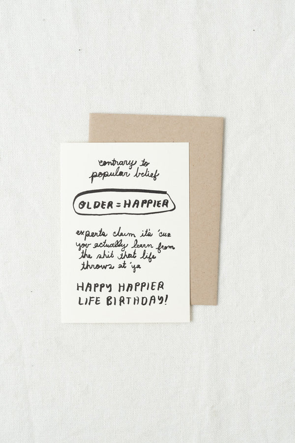 People I've Loved Happy Life Birthday Card