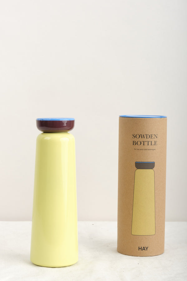HAY 12oz Sowden Bottle Light Yellow