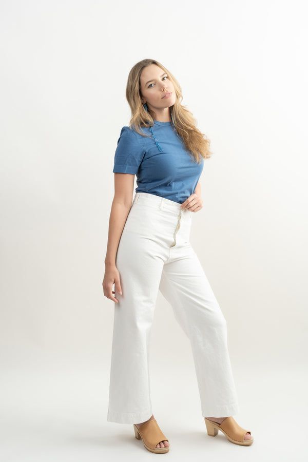 jesse kamm salt white sailor pants