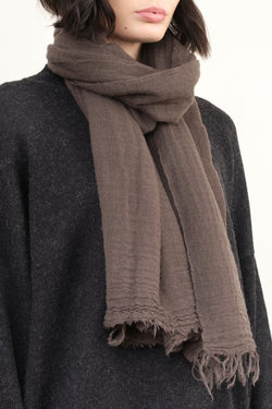 601 Net Cashmere Scarf in Moss private 0204