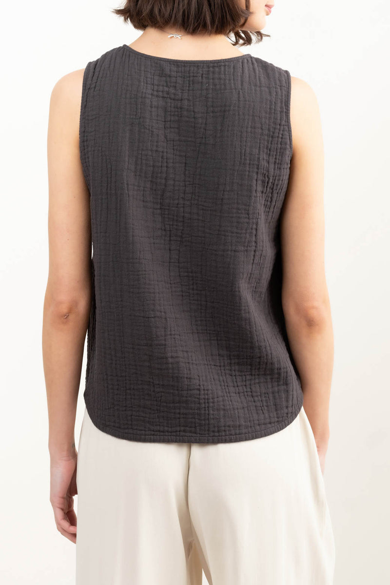 Professional Sleeveless Blouse