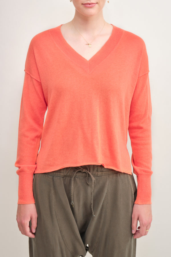Keva V Neck Sweater NSF Clothing