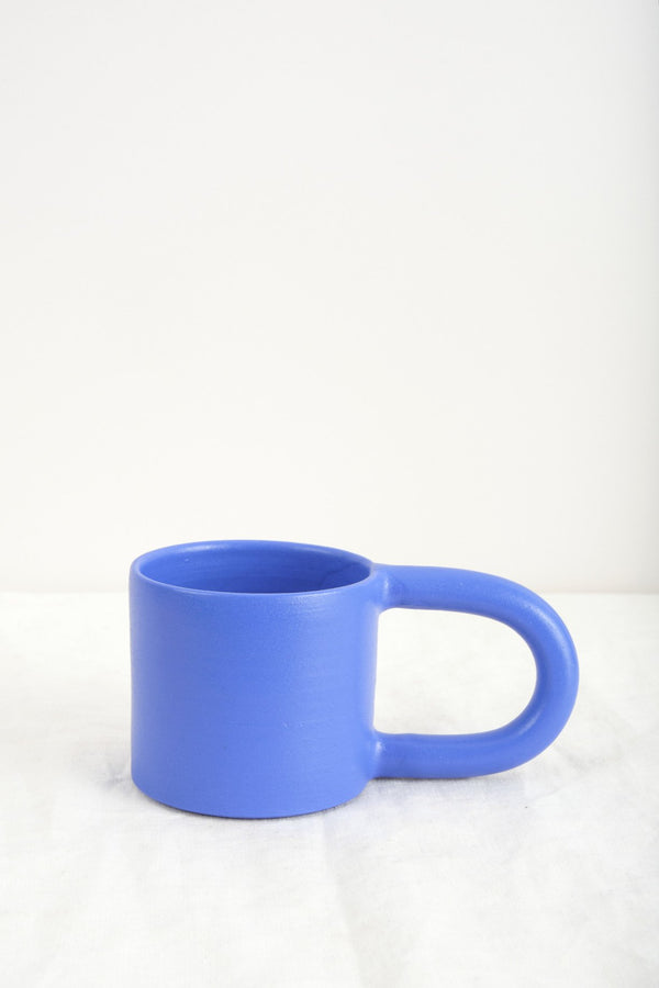 Workaday Handmade Short Blue Mug
