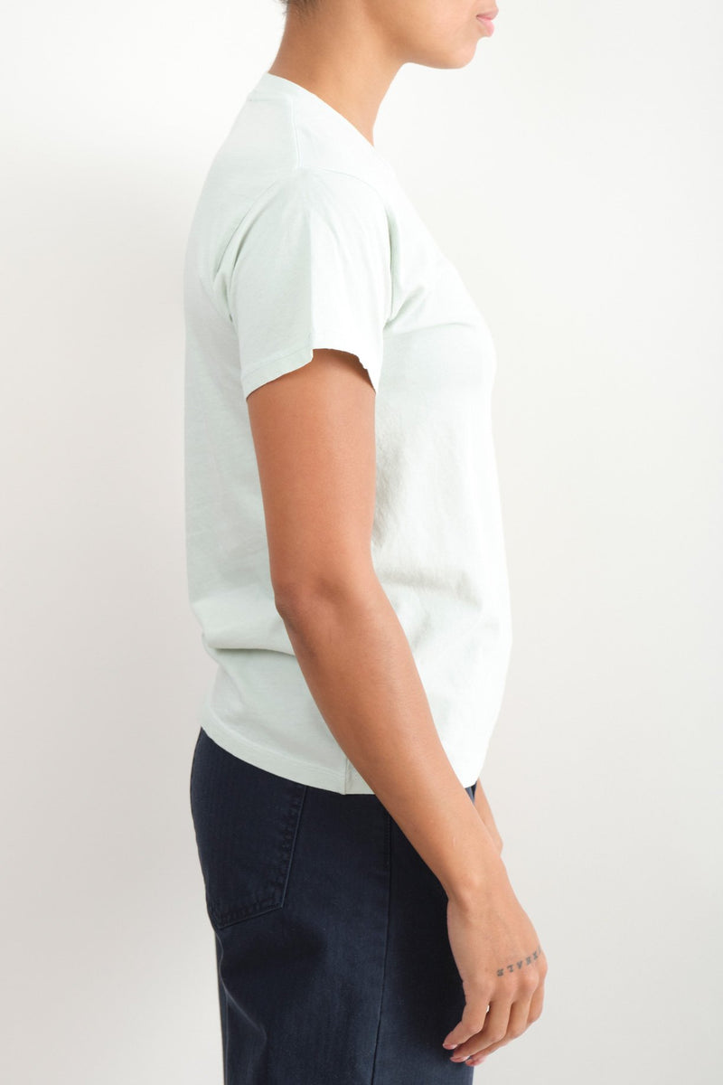 Monogram Solid Basic T- Shirt