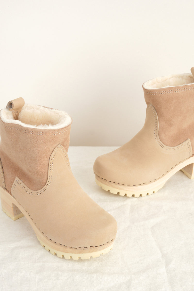 sheerling clog boots