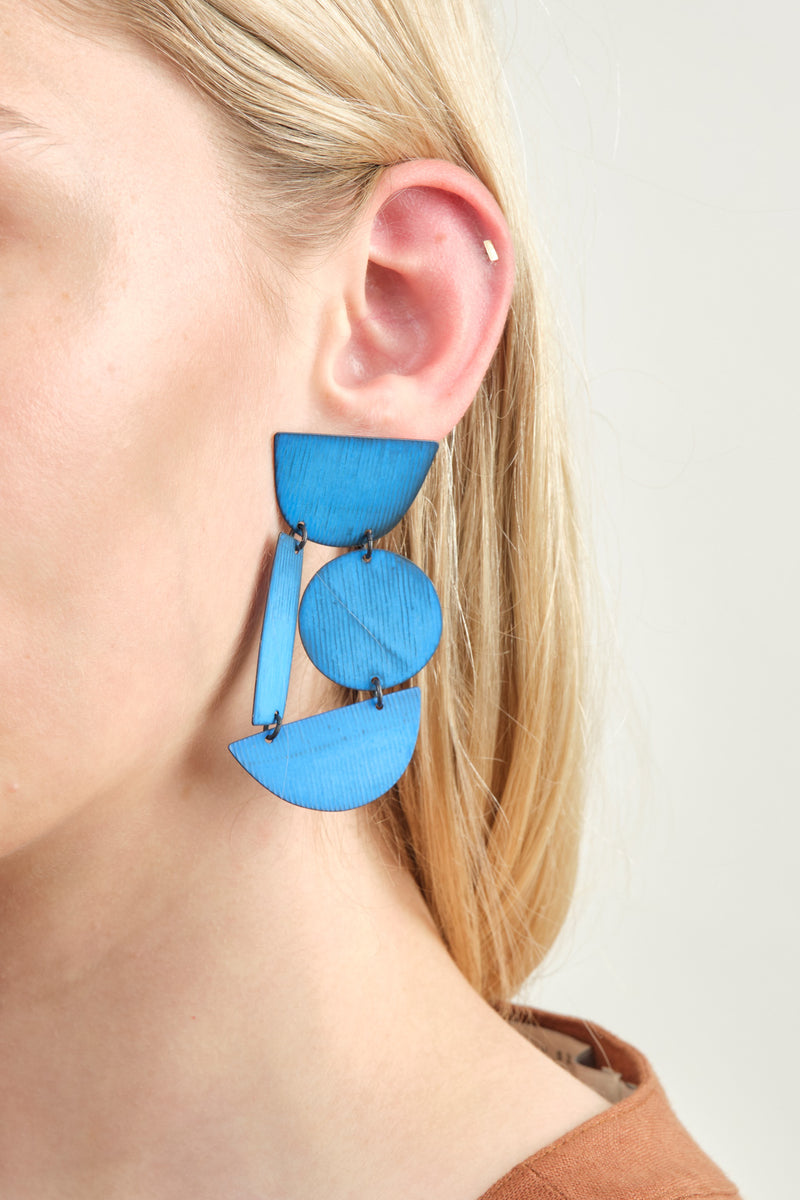 Annie Costello Brown Masha Earrings