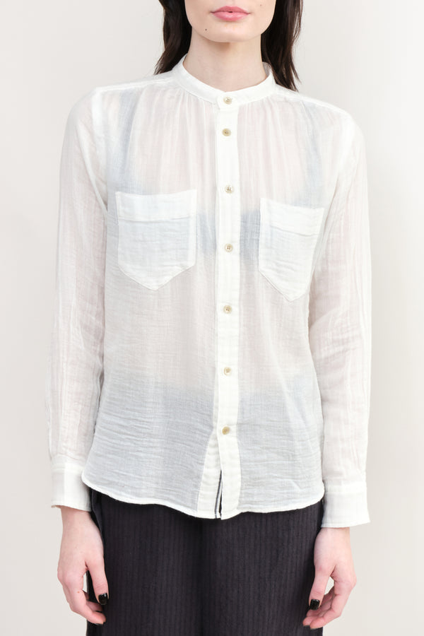 pas de calais Gauzy Cotton Button down