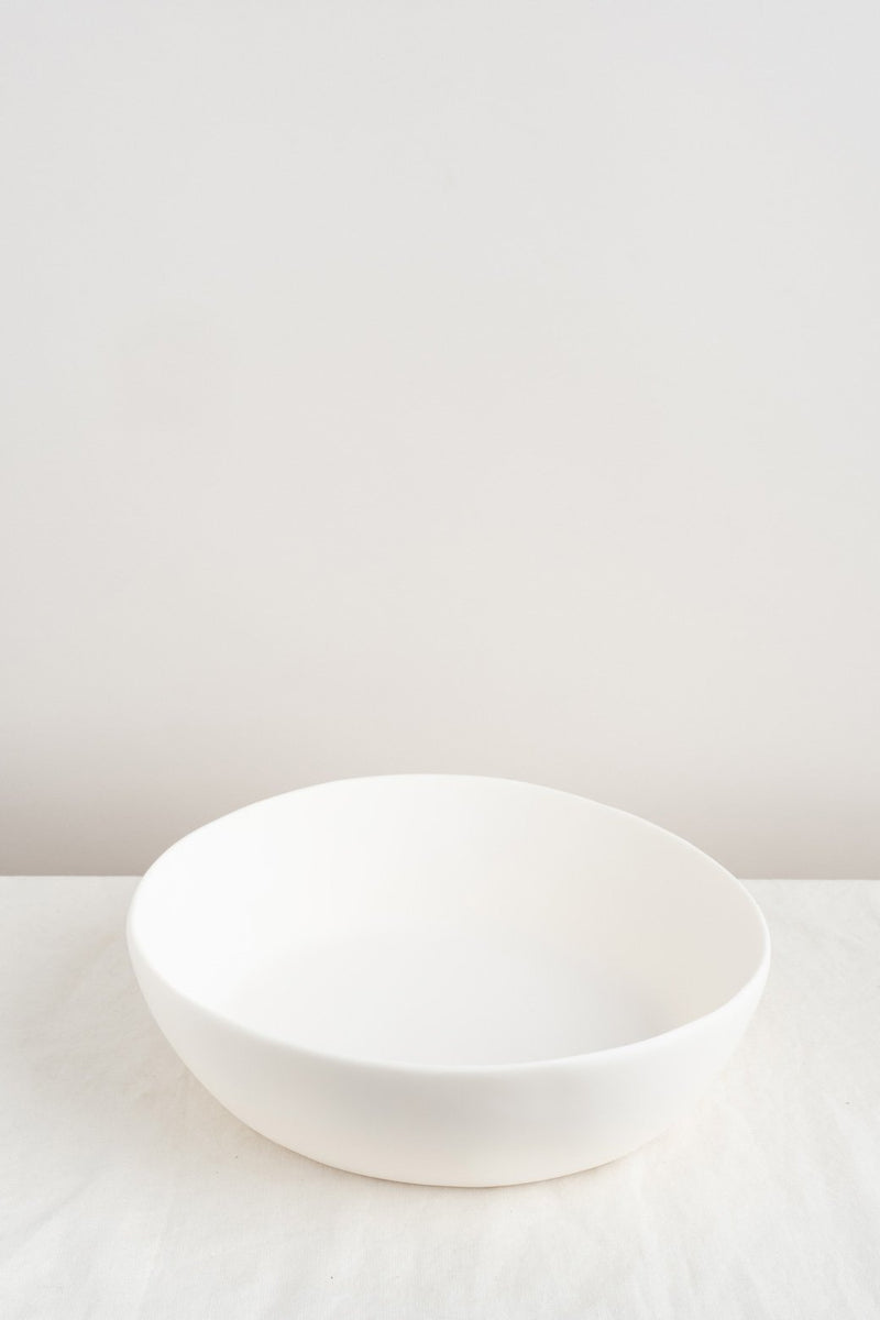 Tina Frey Designs Wide Salad Bowl White