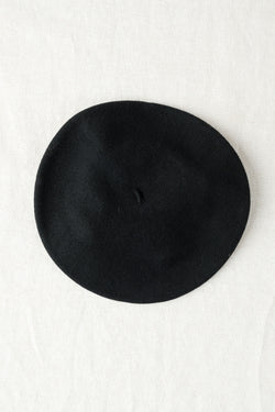 Clyde Rohmer Beret In Black
