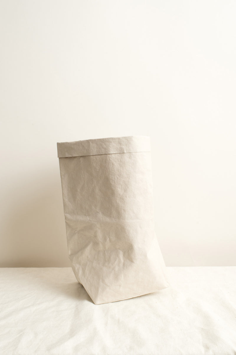 Uashmama Large Plus Paper Bag In Cachemire