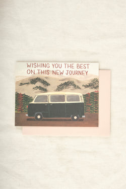 Small Advebture New Journey Van Card
