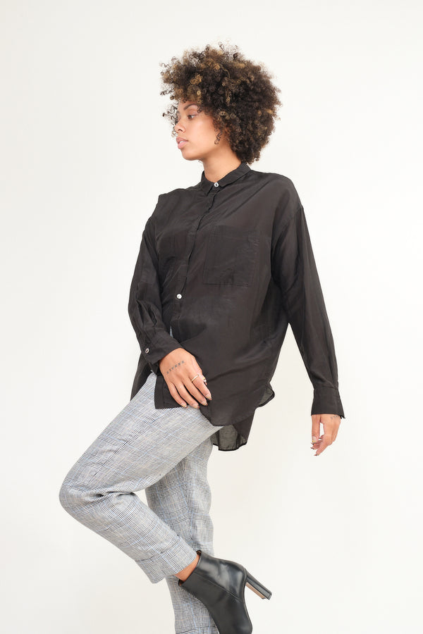 pas de calais cotton silk blouse