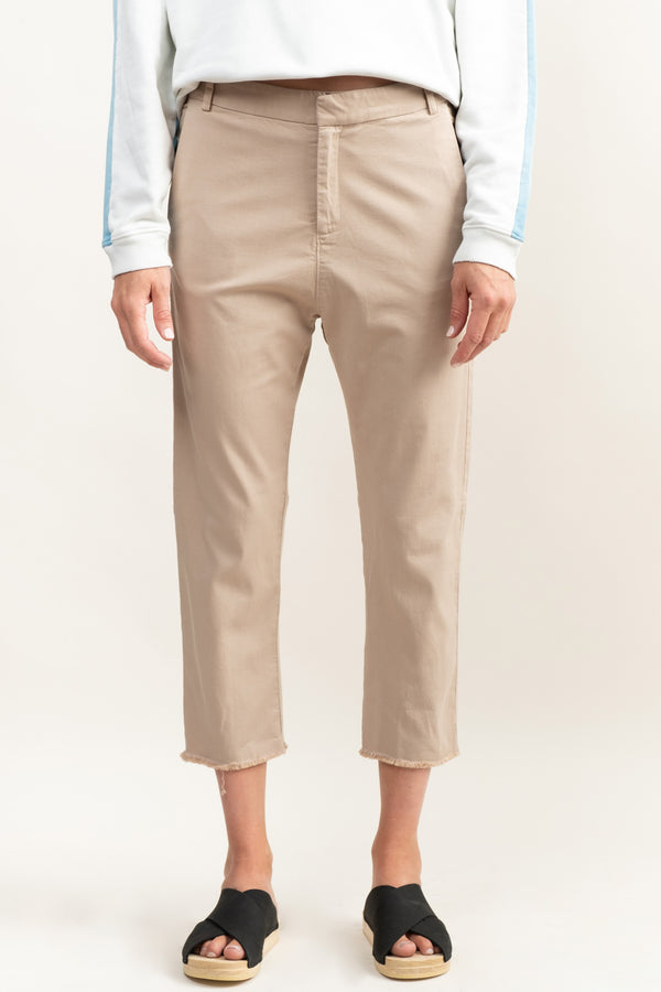 Women's Khaki Trousers