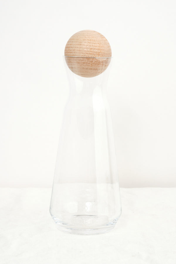 Mazama hand blown carafe