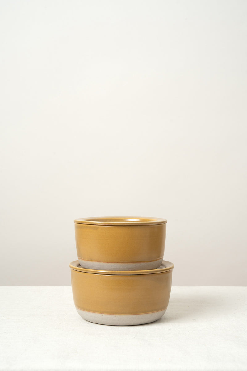 WRF Lab Ceramics Medium Lidded Container