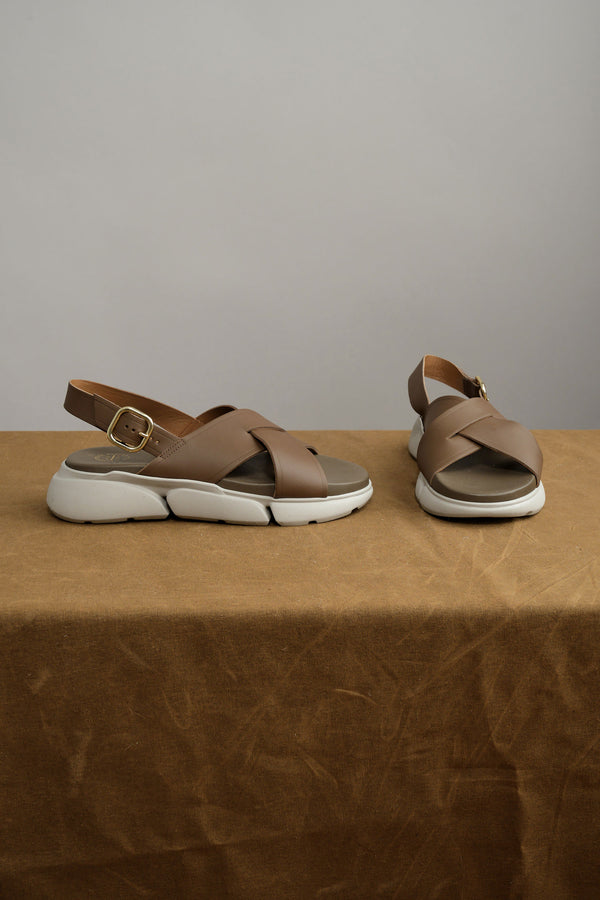 ATP atelier Barisci Chunky Sandals in Khaki