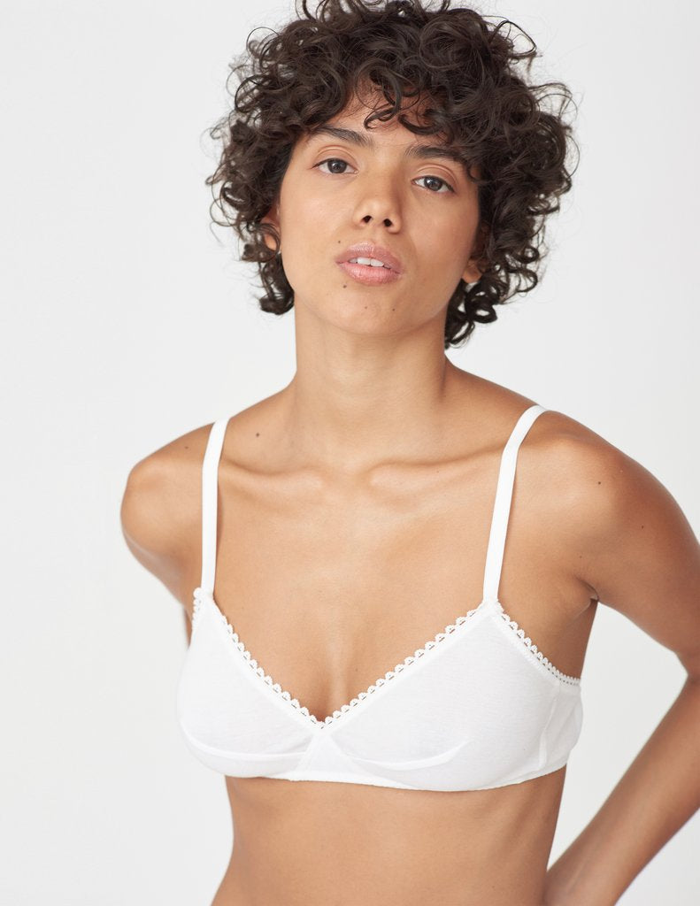 Antonia Bralette In White