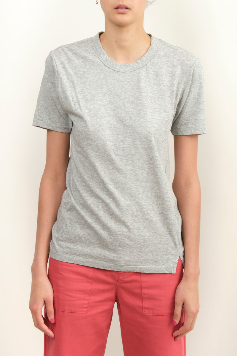 women's heather grey tee
