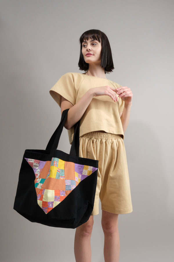 Carleen Quilted Tote