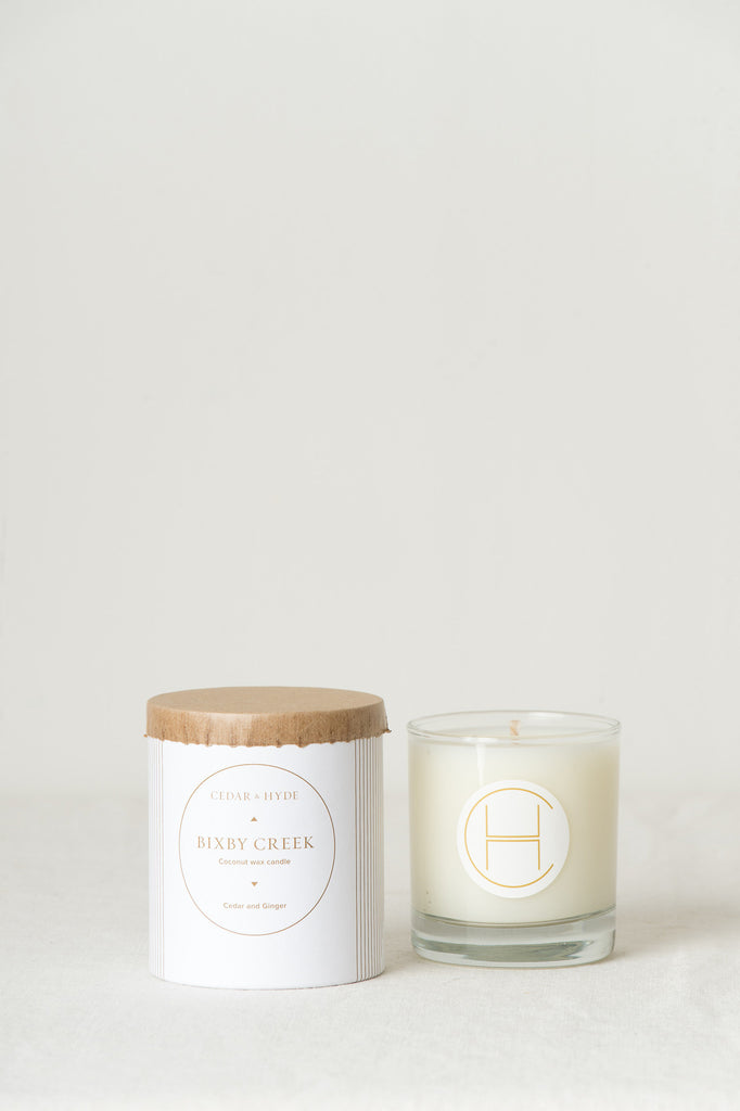 cedar & hyde custom candle